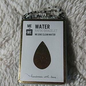 NWT me to we water bracelet
